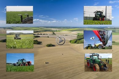 Round-up of tractor-mounted crop biomass sensors
