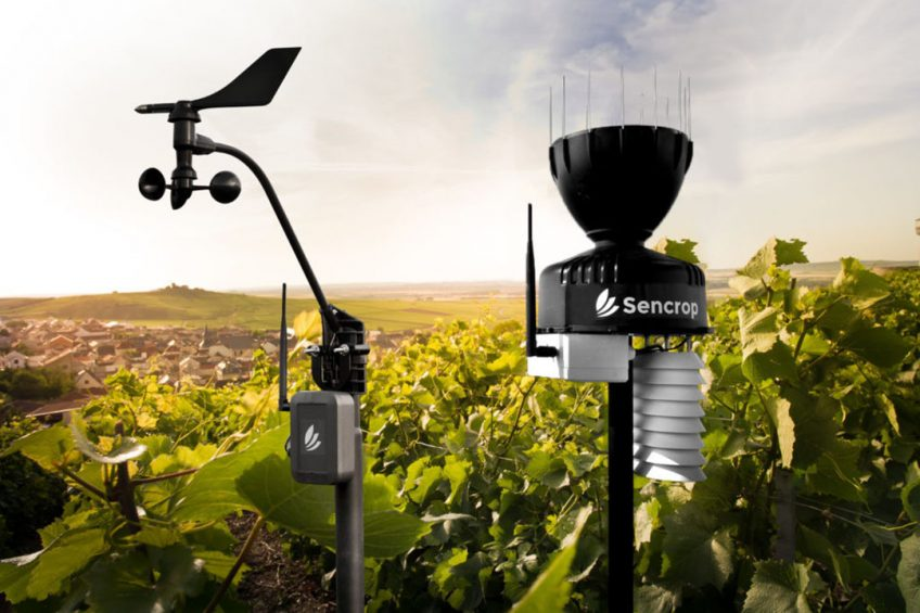 Sencrop weather station network to improve water quality