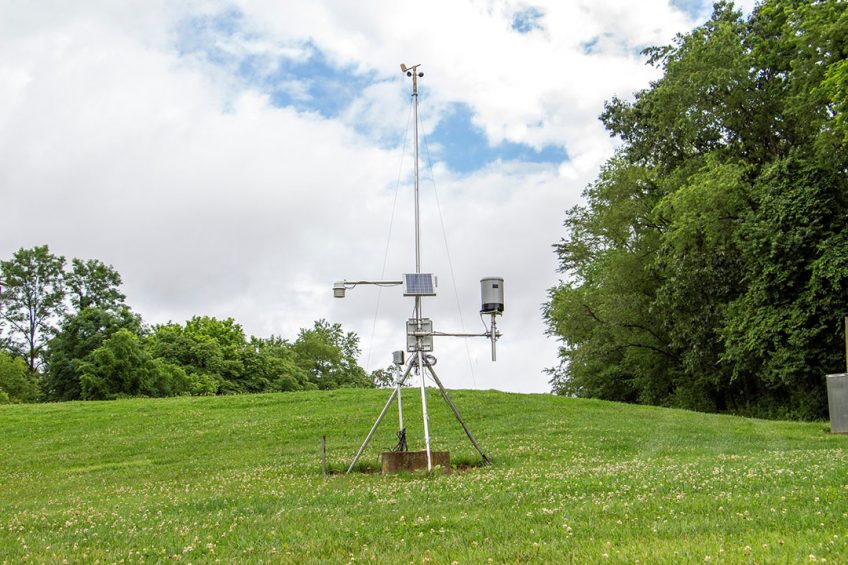 Virginia Tech provides real-time weather data to farmers