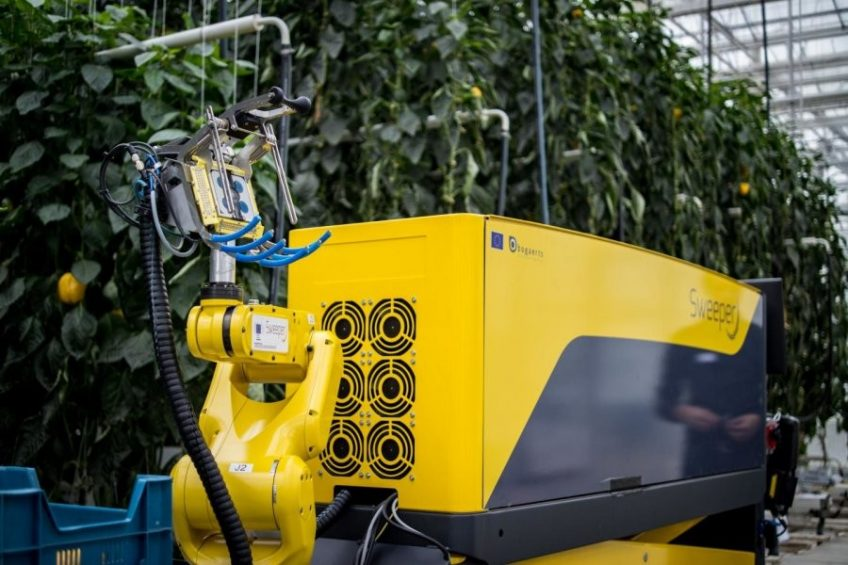 New robot picks a peck of peppers and more