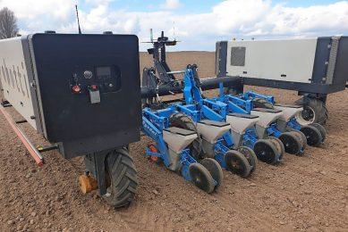 Robotti to reduce herbicide usage in sugar beets