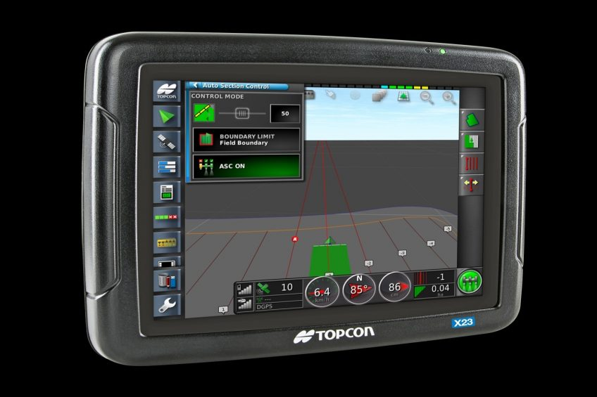 Topcon new 'entry level' X23 console