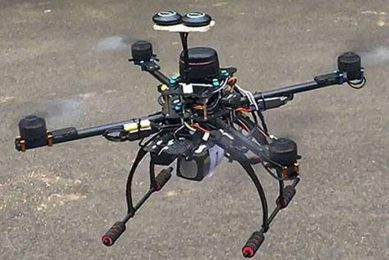 Indian students build Smart Agricopter for spraying