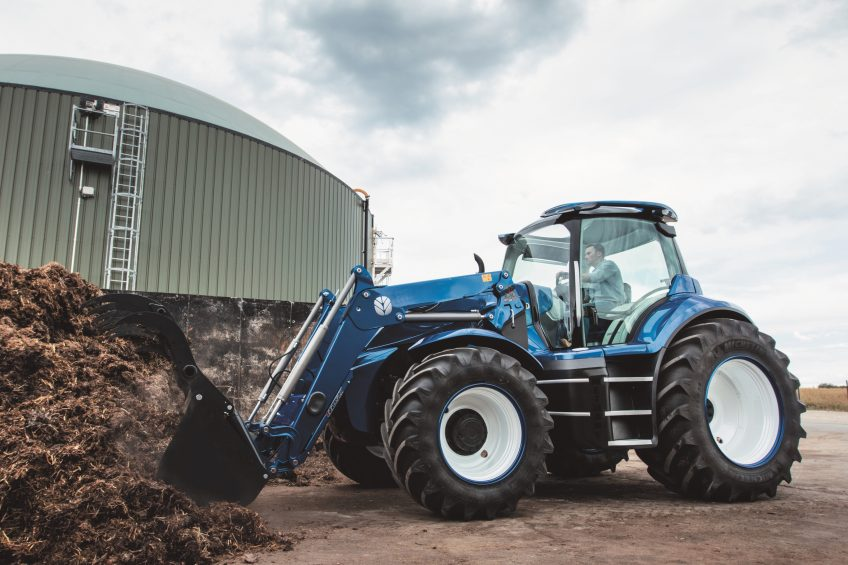 Methane-powered prototype tractor cuts emissions by 80%