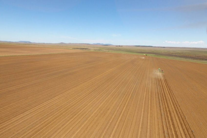 Developing a precision farming system in South Africa