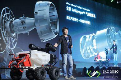 XAG launches autonomous farm robot