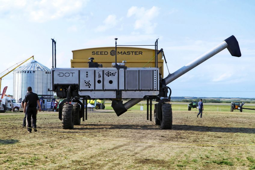 The lead in the race for a driver-free, arable farming utopia has been taken up by SeedMaster. It has grand plans to revolutionise life in (or rather, out of) the tractor seat and it s called Dot.