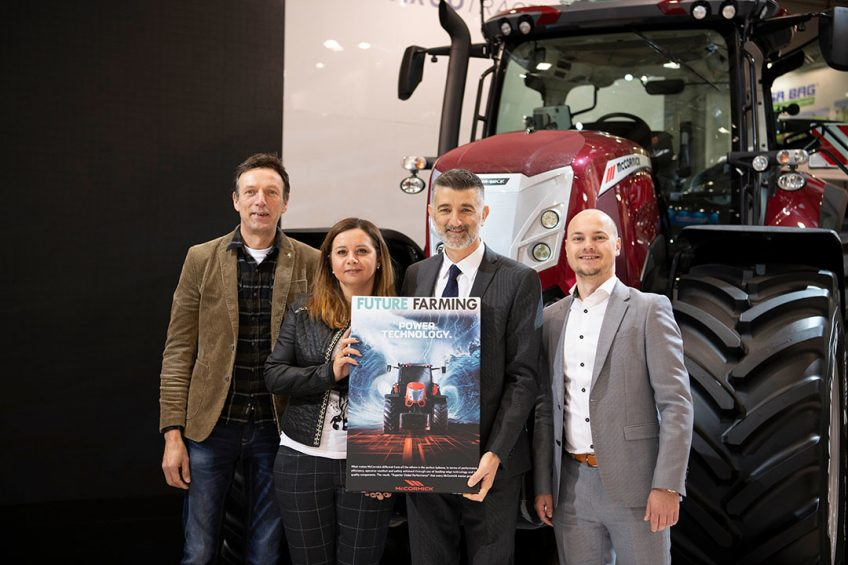 Future Farming presents Argo Tractors with canvas at Agritechnica