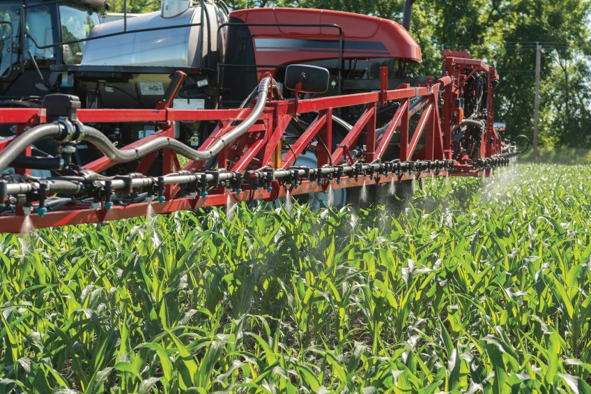 This spray tip is designed to cut pesticide drift by 90%