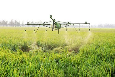 Zoomlion introduces 2 multi rota UAV's for crop spraying