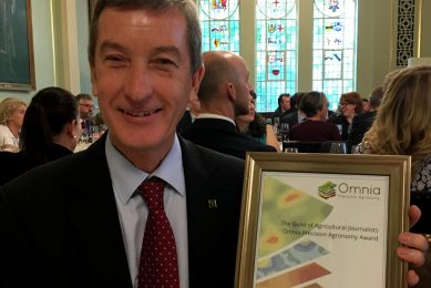 Future Farming s Peter Hill wins award with article about drones