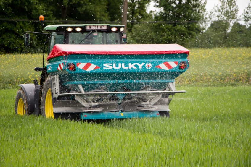 Ultra-accurate systems raise bar for fertiliser spreaders