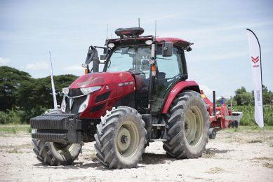 Yanmar demonstrates autonomous tractors