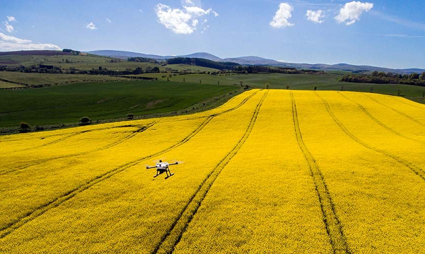 Video: Heavy duty drone can cope with changeable UK weather
