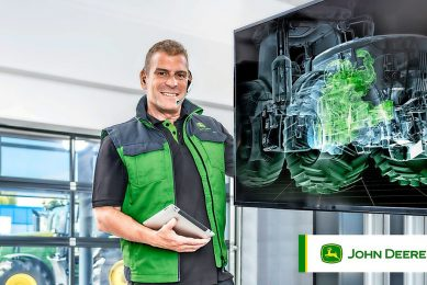 John Deere Connected Support prevents technical failure