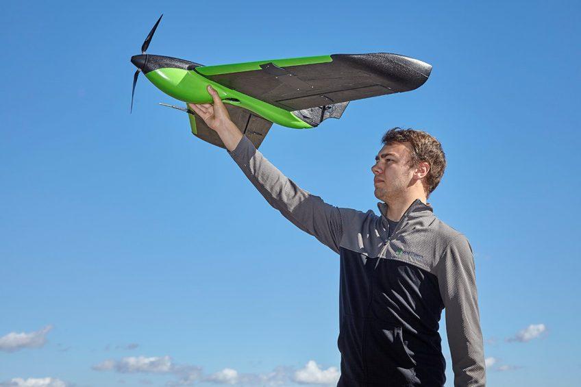 Sentera drone sensor collects 4 types of image data