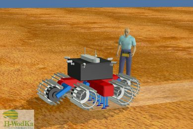 Autonomous robot built specially for a perfect seed bed