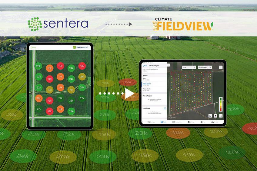 Sentera and Climate expand platform partnership