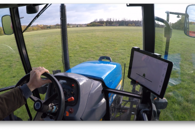 App turns smartphone into a cheap tractor guidance system