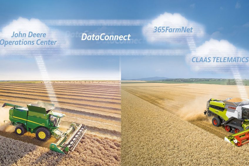 Claas and John Deere team up in precision agriculture
