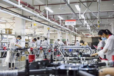 XAG Dongguan Factory has resumed manufacturing with comprehensive work environment protection from COVID-19.