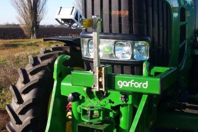 Garford's Robo-pilot for row-crop tractor guidance