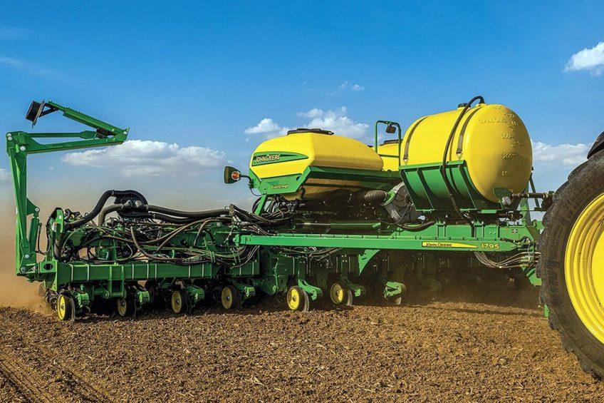 John Deere reduces fertiliser costs with ExactRate