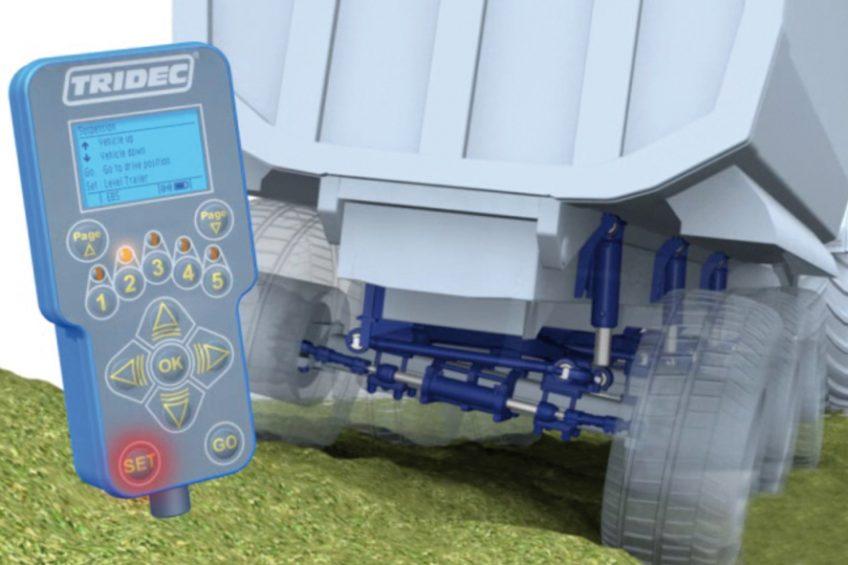 Trailer control with Tridec's Tritronic