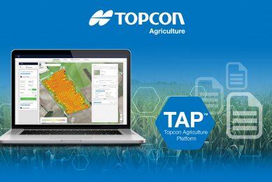 Topcon launches cloud-based farm management platform TAP
