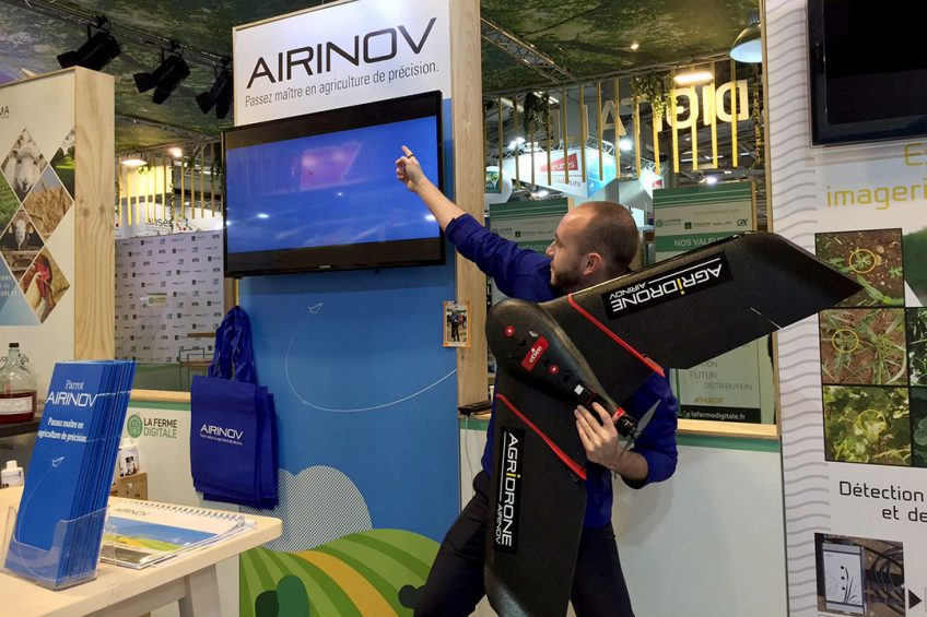 French drone service pioneer Airinov starts drone leasing service