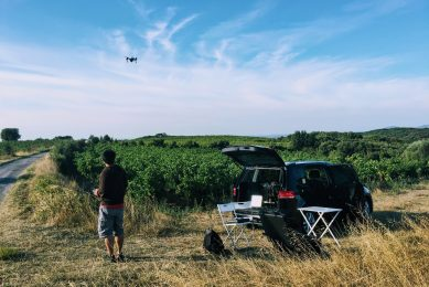 Vineyard diseases tackled with Nasa drone technology