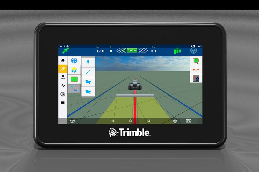 Trimble launches new display and guidance controller