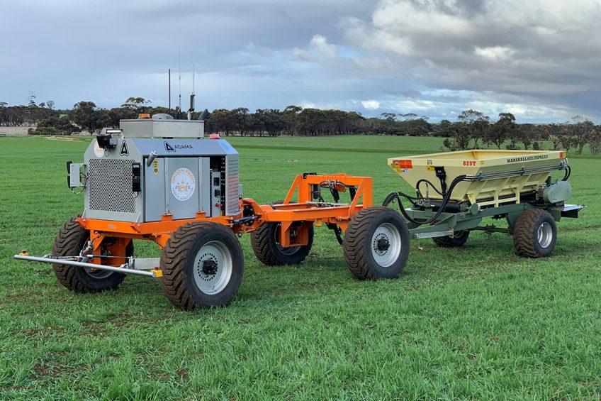 SwarmFarm Robotics and Roesner Pty Ltd in Australia are going to develop a fully autonomous fertiliser spreader.
