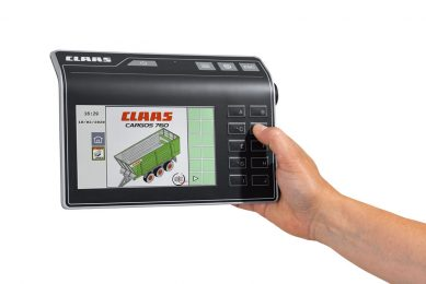 New Claas Cemis 700 terminal for Isobus applications
