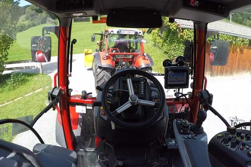 ZF intelligent technologies for tractors