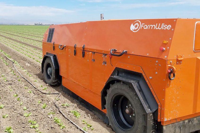 FarmWise raises $ 14.5m for weeding robots