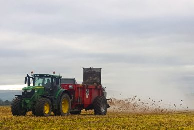 High-tech muckspreader offers more accurate applications