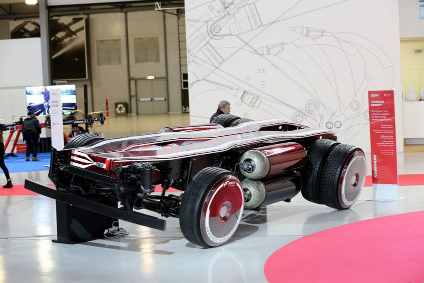 FPT Industrial shows powertrains of the future