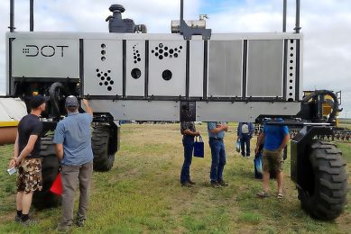 DOT & Raven Technologies combine precision tech systems