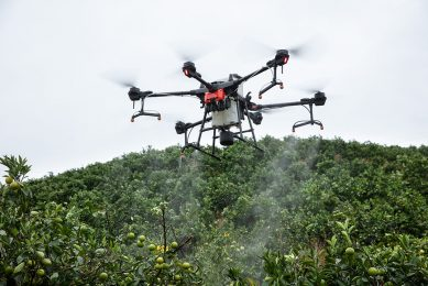 DJI launches AGRAS T20 smart spraying drone