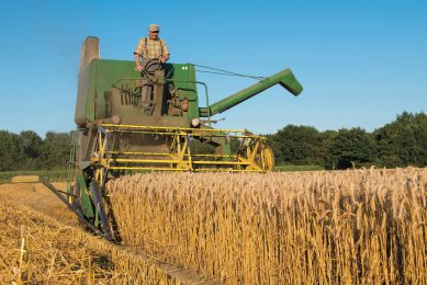 The combine technology that helps gather the world's grain