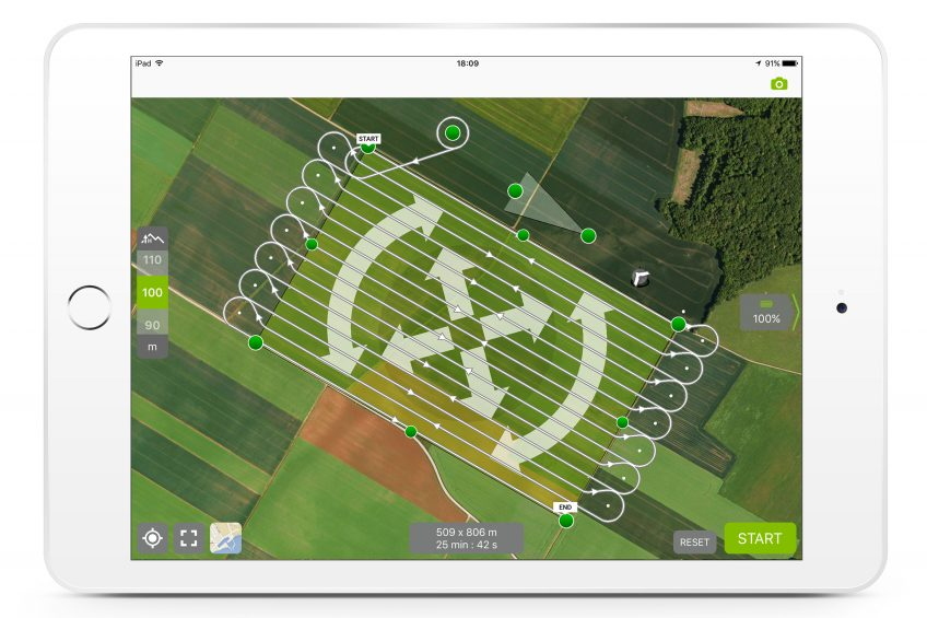 French firm launches drone service to monitor crops