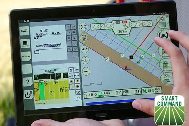 Reichhardt launches smart farming app at Agritechnica