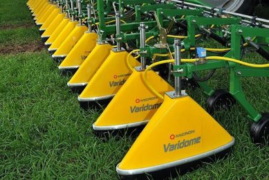 Micron sprayers to reduce drift potential by over 90%
