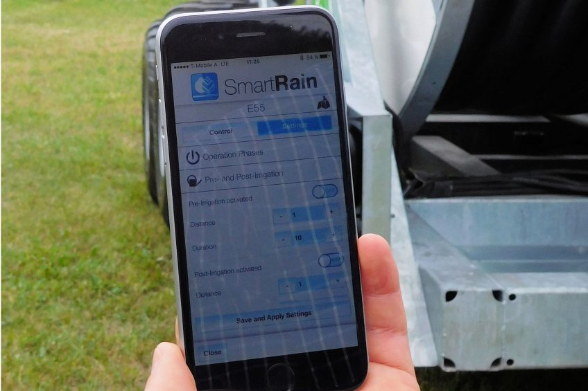 Ease of use key to new irrigation touchscreen controller