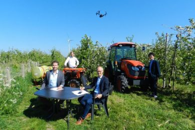 Kubota and Aurea partner in precision ag for fruit growers