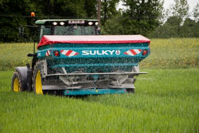 Brazilian farmers benefit from French fertiliser spreading technology