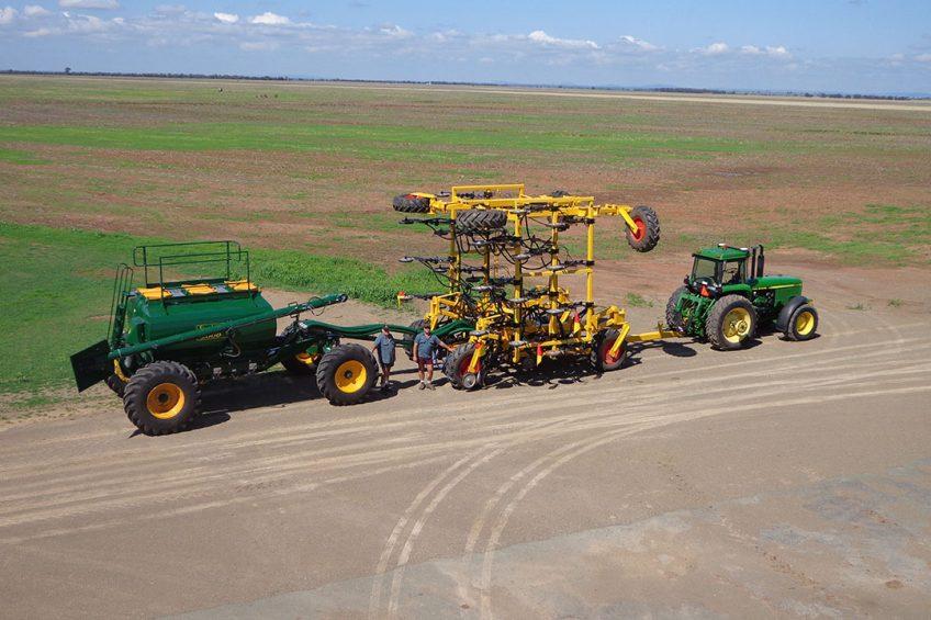 Australian planter manufacturer goes to 92 metre working width