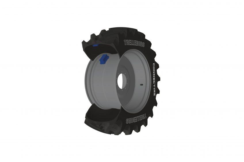 This smart tyre pressure sensor alerts drivers via smartphone
