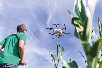 Use of drones in biological pest control increasing